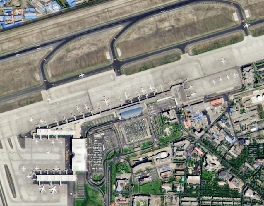 2米分辨率(机场)